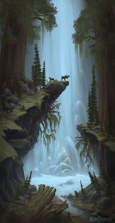 FR386 Waterfall, Nasan Hardcastle