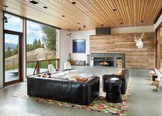 Contemporary Western by Hoyt / CTA Architects http://www.homeadore.com/2014/12/12/contemporary-western-hoyt-cta-architects/