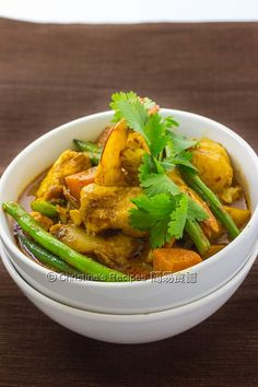 Malaysian Curry Fish - a cheat way to make the delicious curry sauce, from Christine's Recipes