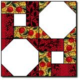 Octagon and Twist: Quilters Cache - a great place for lots and lots of blocks - all free