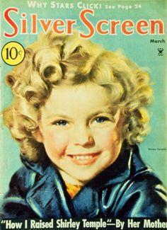 Temple, Shirley - Silver Screen Magazine Cover 1930's