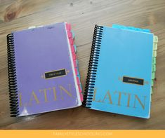 Get a great start with your Latin studies by setting up your Latin resources in an efficient and helpful way that lays a strong foundation for learning.