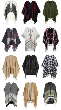 I'd like to give something like this a try. Fall Must-Have: The Cape| Penny Pincher Fashion