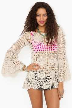 crochet dress-want!