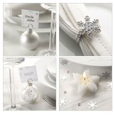 Winter Wedding - Details - Snowflakes