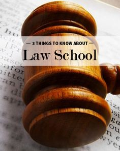 3 Things I Wish I Knew About Law School  Continue reading for the three things you should know before beginning your first year of law school.