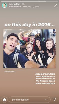 Race Around The World, Around The Worlds, Tyler Oakley, Amazing Race, The Incredibles, Movie Posters, Movies, Films, Film Poster
