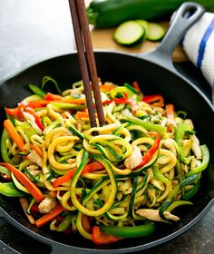 A low carb version of Chinese chow mein or lo mein (Chinese stir fry noodles) using zucchini noodles aka zoodles. This meal is ready in less than 30 minutes. Chinese New Year is right around the corner so lately I've been craving all of my favorite Chinese dishes that are often eaten for New Year's, like soy …