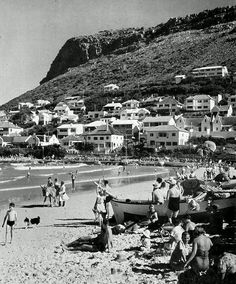 Fish Hoek 1960| Flickr - Photo Sharing! Cape Town South Africa, Out Of Africa, African History, Old City, Countries Of The World, Old Pictures, Live, Landscape Photography, Dolores Park