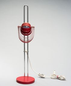 """BORDSLAMPA, """"Visier"""", E. R. Nele, Temde AG Switzerland, 1970-tal. Lighting Design, Switzerland, Lamps, Auction, Home Appliances, Flooring, Lights, Pretty, Light Design"""