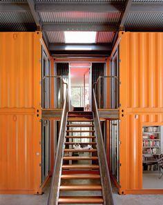 Mansões Fabricadas com Containers - Parte II (5 cases)