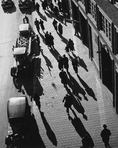 """Andreas Feininger / """"Kungsgatan, Stockholm"""", 1935"""
