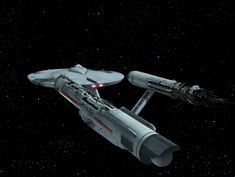 USS Constellation (NCC-1017) after attack by the Doomsday Machine.