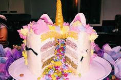 Get inspirational unicorn cake ideas from this image gallery of unicorn cake designs and cake toppers ideal for birthdays and kids parties Unicorn Cake Design, Cake Lifter, Cake Decorating Set, Nordic Ware, Unicorn Birthday, Cake Designs, Birthday Cakes, Cake Toppers, Birthdays