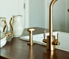 The Look of Unlacquered Brass for Less: Tips to De-Lacquer It Yourself! | The Kitchn