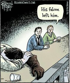 The lows of falconry