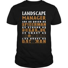 LANDSCAPE MANAGER Are as Like as Spiderman Hulk Ironman Batman T-Shirts, Hoodies. BUY IT NOW ==► https://www.sunfrog.com/LifeStyle/LANDSCAPE-MANAGER--BATMAN-Black-Guys.html?id=41382