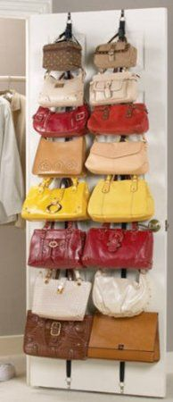 7 Great Ways To Store Your Purses