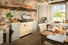 The Aga in Eirianfa will keep you toasty in winter