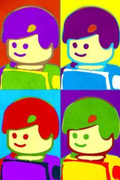Lego-minifigure-quad-pop-art-poster