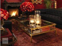 EICHHOLTZ Couchtisch, Salontisch Harvey Furniture, Home Decor, Glass Drawer Pulls, Elegant Styles, Mirror Glass, Decorating, Living Room, Decoration Home, Room Decor