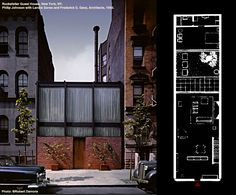 philip johnson rockefeller guest house - Cerca con Google
