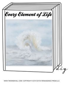 """""""Every Element of Life DIY Book Cover"""" by cecilew ❤ liked on Polyvore featuring art and diybookcover"""