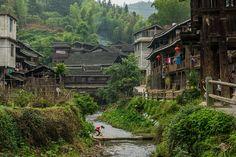 Chengyang - an ancient village of Guangxi, China (Lesh Jazza Nomadasaurus)