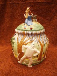 Wizard of Oz Cookie Jar by Treasure Craft