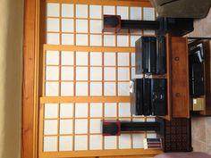 Shoji screen sliding doors