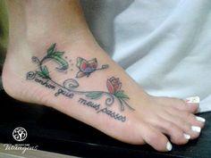 Tatuagem nos Pés - Inspiração