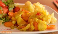 Legumes assados à indiana