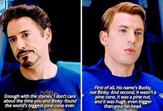 Civil War...love the avengers and brother bear crossover