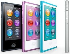 The New iPod Nano also gets a redesign.