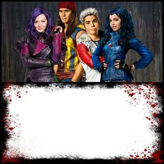 Descendants Invitation Template Design