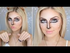 Here is my pretty halloween makeup tutorial! Fawn - Bambi - Deer makeup! If you liked it, thumbs up :) Did you see my previous video? CLUBBING HAUL https://w...