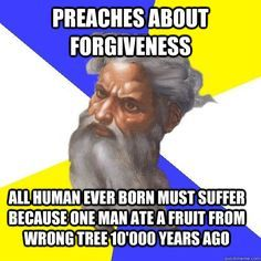 atheists and forgiveness | preaches about forgiveness