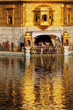 The Harmandir Sahib (Golden Temple) at Amritsar, India Qi Gong, Jaipur, Kung Fu, Nepal, Laos, Sri Lanka, Mumbai, Golden Temple Amritsar, Taj Mahal