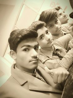 Me Shadab and Ashu