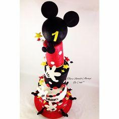 Mickey Super Turvy Birthday Cake