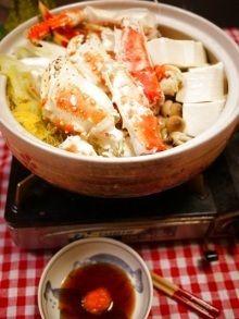 豪華☆カニ鍋~♪〆はカニ雑炊<|レシピブログ