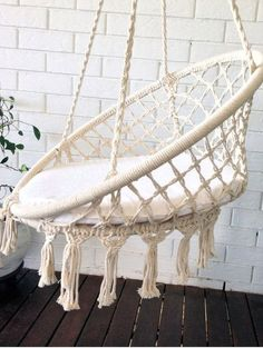 Hey, I found this really awesome Etsy listing at https://www.etsy.com/listing/473103823/crochet-hanging-chair-bohemian-boho-chic
