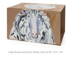 Large Sheep on box