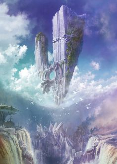 Environment Artwork - Characters & Art - Aion