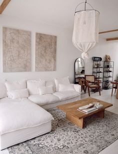 Small Living Rooms, My Living Room, Home And Living, Living Room Decor, Living Room Inspiration, Home Decor Inspiration, Decor Ideas, Sofa Design, Interior Design