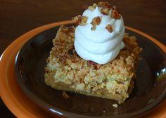 pumpkin pie cake: My FAVORITE fall dessert!