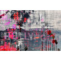 Parvez Taj 'Hollywood Dreams' Canvas Art - Overstock™ Shopping - The Best Prices on Canvas Art
