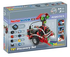 Fischertechnik 524328 - TXT Discovery Set: Fischertechnik: Amazon.co.uk: Toys & Games