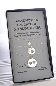 Gift For Grandma Mother Daughter Mothers Day Necklace Mom New Family Tree