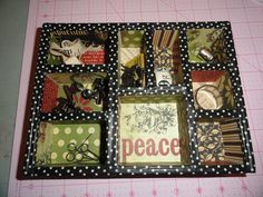 christmas shadow box projects - Bing Images